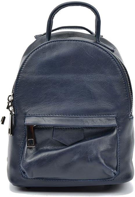 b657d2fd3c Carla Ferreri AW17 CF 2159-BLU Fashion Backpacks For Women - Leather ...