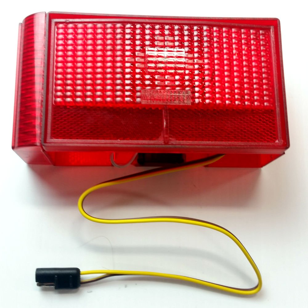 Shorelander Trailer Wiring Harness Boat Tail Lights Left Side Light Curved Outside Sports Outdoors 1000x1000