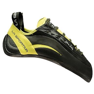 La Sportiva Skwama Schwarz-Gelb, Kletterschuh, Größe EU 35.5 - Farbe Black-Yellow Kletterschuh, Black - Yellow, Größe 35.5 - Schwarz-Gelb