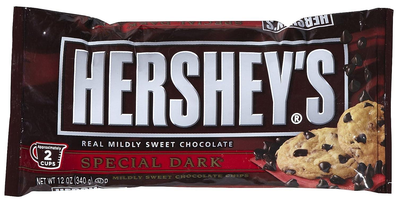 Amazon.com : Hershey's Special Dark Baking Chips-12 oz : Grocery ...