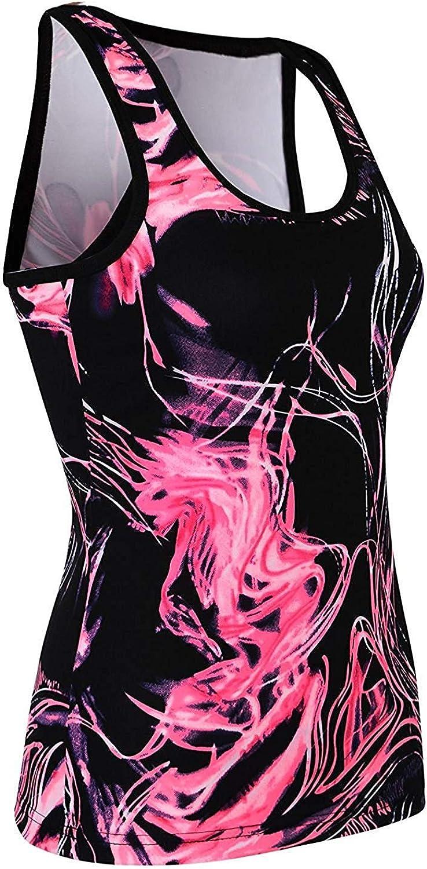 LOTMART Ladies Gym Sports Vest Shorts Women Active Run Wear Fitness Vest Shorts