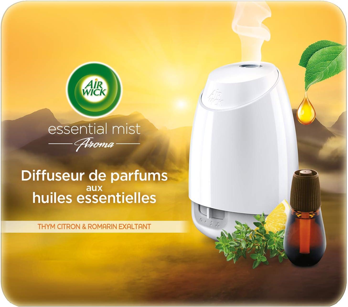 Diffuseur d'huiles essentielles Air Wick + recharge Thym Citron en promotion