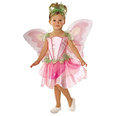 Let's Pretend Child's Springtime Fairy Costume with Wings, Small: Toys & Games