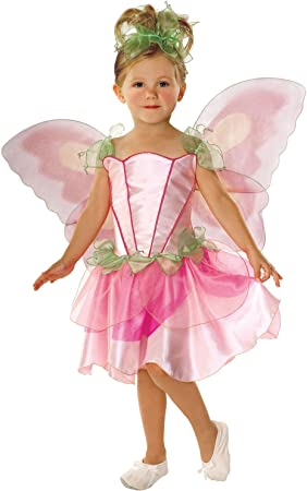 Rubies Disfraz infantil de hada de primavera de color rosa con ...
