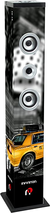 Altavoz Torre DE Sonido INFINITON (Bluetooth, USB/SD, Mando A Distancia) (ST-92 NY)