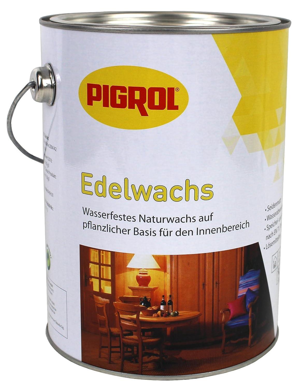Pigrol Edelwachs 2, 5L klarwachs Wachs Holz Mö bel Klarwachs Hartwachs Naturwachs innen