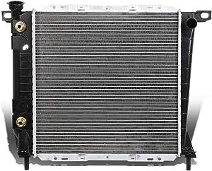 DNA Motoring OEM-RA-1061 1061 OE Style Aluminum Cooling Radiator Replacement,Black / Metallic