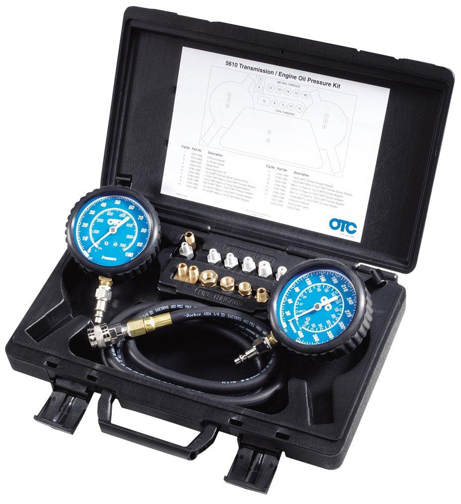 OTC 5610 Transmission/Engine Oil Pressure Kit OTC Tools