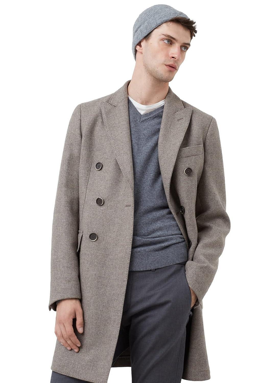MANGO MAN - Tailored-mantel aus Jacken woll-mix