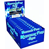 Mystical Fire Flame Colorant Vibrant Long-Lasting Pulsating Flame Color Changer for Indoor or Outdoor Use, Mystical Fire Blue, 6 Pack