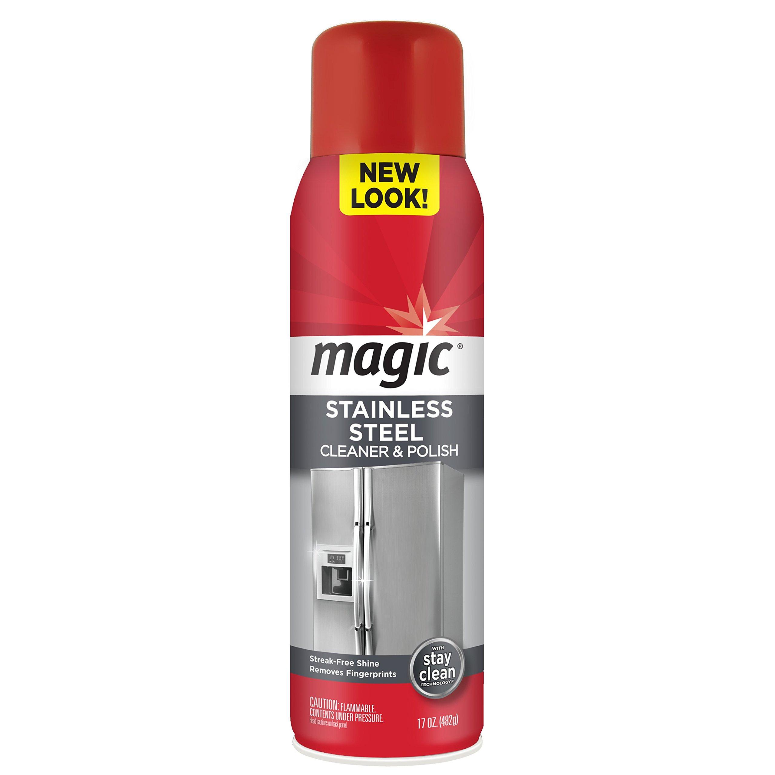 Amazon.com: Magic Stainless Steel Cleaner & Polish Trigger Spray ...