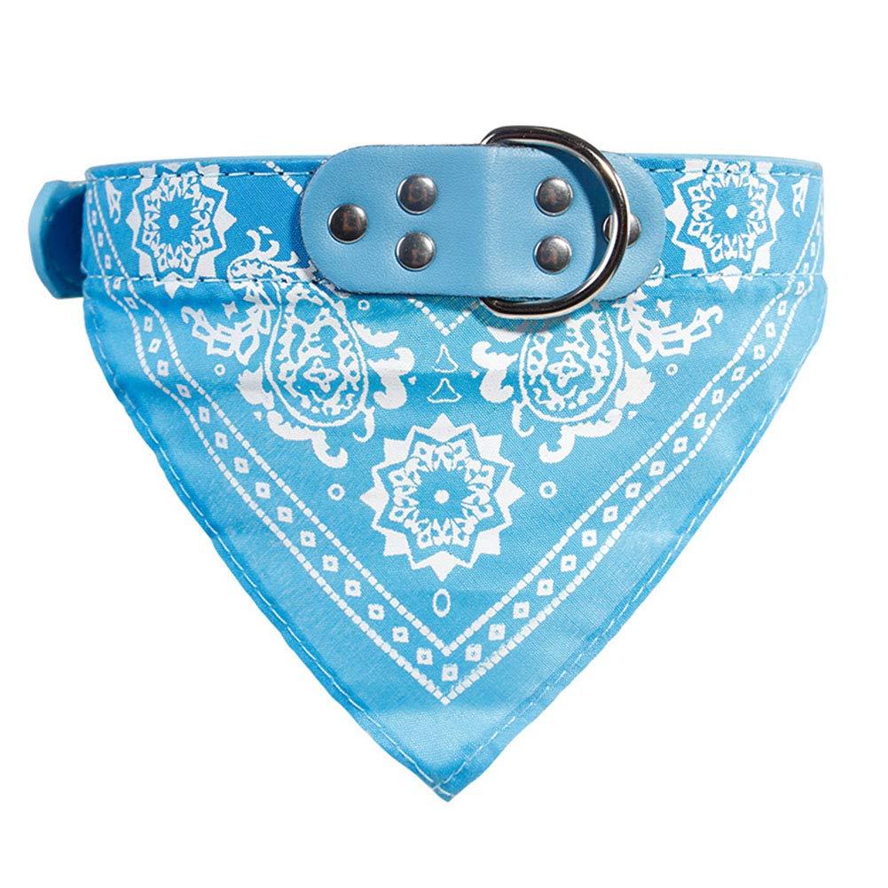 TREESTAR Bandana pour Chien-Confortable Écharpe Chien Cow-Boy Réglable Collier Pet Supplies Fournitures pour Animaux