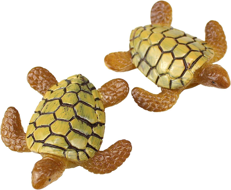 Amazon Com Funshowcase Beach Sea Turtles Miniature Figurine