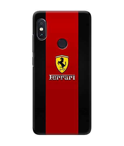 separation shoes 07863 2c582 Be Awara Ferrari Printed Back Case Cover for Xiaomi: Amazon.in ...