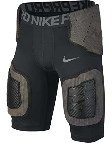 96ee62315a Boy s Nike Pro Hyperstrong Core Football Shorts Black Dark Grey Flint Grey  Size Large