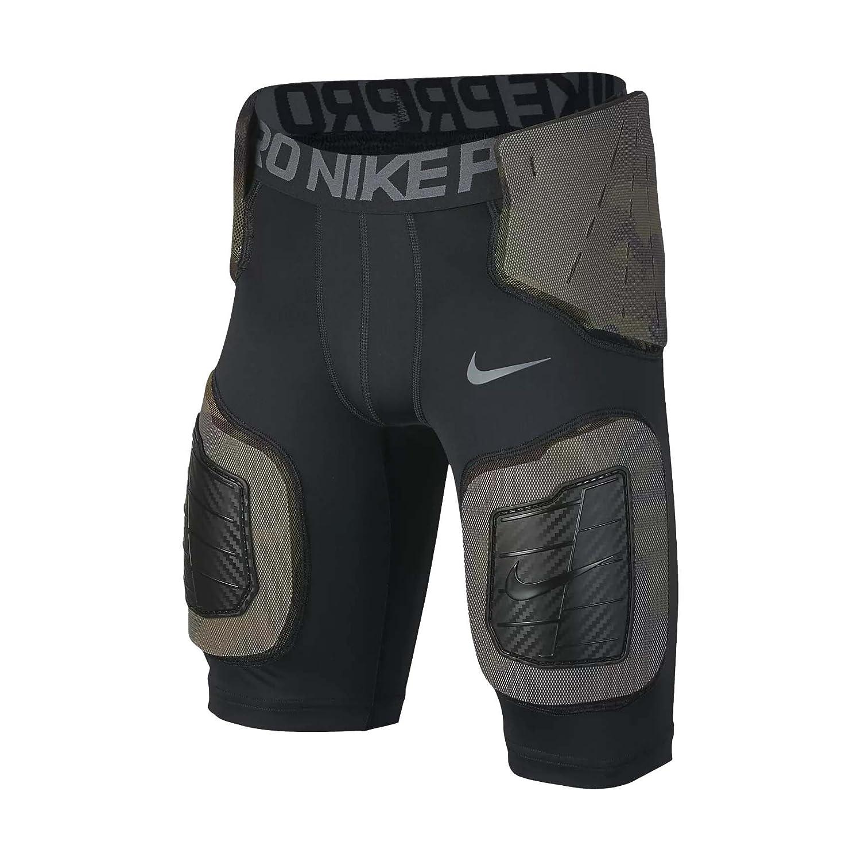 Boy's Nike Pro Hyperstrong Core Football Shorts 黒/Dark グレー/Flint グレー Size Large