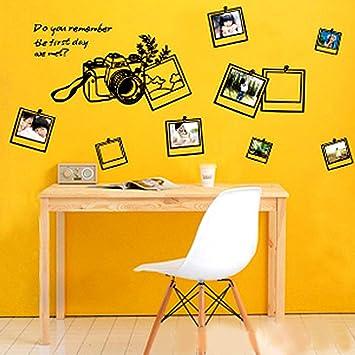 yesurprise vinilo decorativo adhesivo pegatina pared saln y dormitorio decoracin hogar marcos de fotos estudio fotogrfico