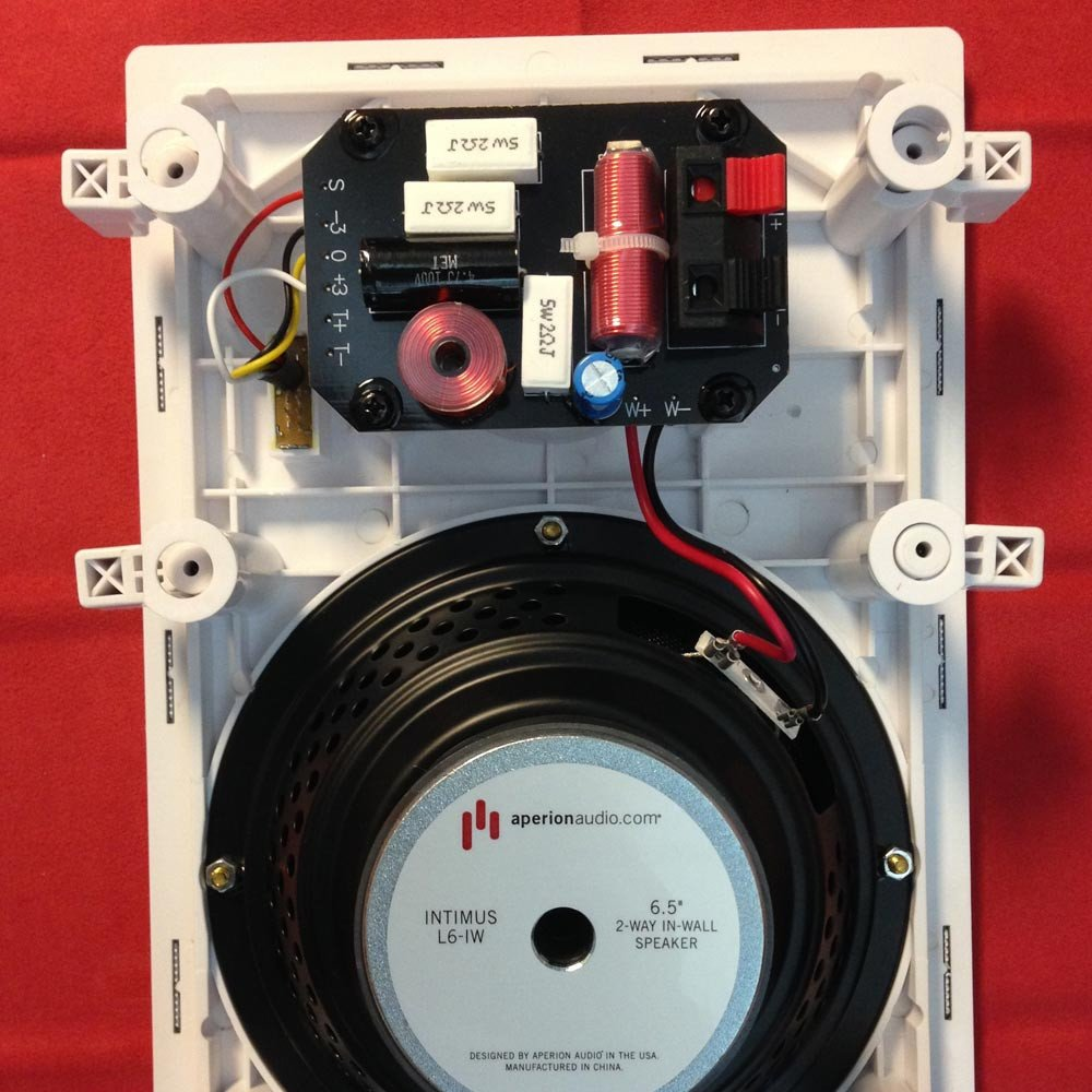 Aperion Audio Intimus L6 Iw In Wall Speaker Electronics Wiring For Whole House Distributed