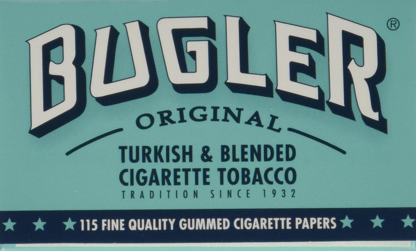 Bugler Cigarette Rolling Paper Gummed Box of 24