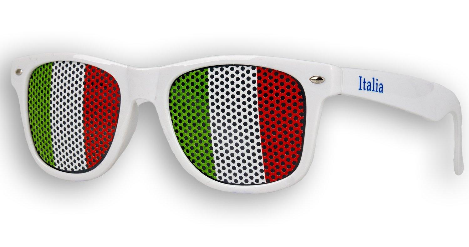4 x Fanbrille Italien - Italia - Italy l3njkfasTD