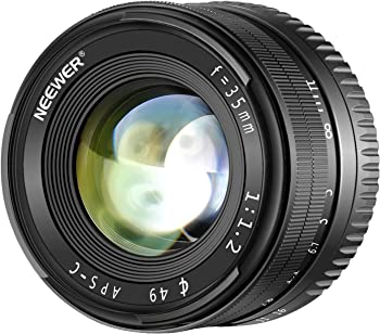 Neewer 35mm F/1.2 APS-C Manual Lens for Sony