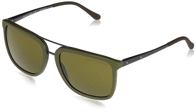 Ralph Lauren 0RL8164 Gafas de sol, Matte Olive, 58 para ...