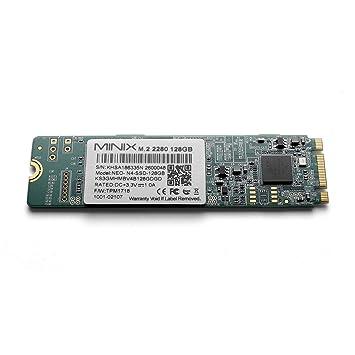 MiniX Mini 128 GB M.2 2280 SATA III SSD para Mini Neo N42C-4, Intel