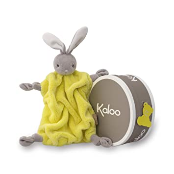 Kaloo Doudou Rabbit - Neon Yellow Plush