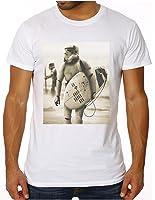 OM3 - STORMTROOPER SURFING - Slim Fit T-shirt Hommes (équipée!!!) DARTH VADER GEEK