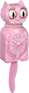 product image for The Original New Edition Kitty Cat Klock (Clock) Miss Kitty Cat Limited Edition - Pink