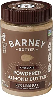 product image for BARNEY Powdered Almond Butter, Chocolate, Paleo Friendly, KETO, Non-GMO, Skin-Free, 8 Ounce
