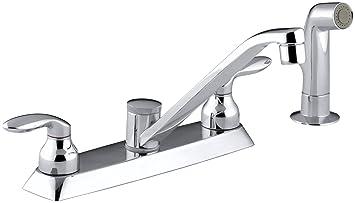 Kohler K 15253 4 Cp Coralais Kitchen Sink Faucet Polished Chrome