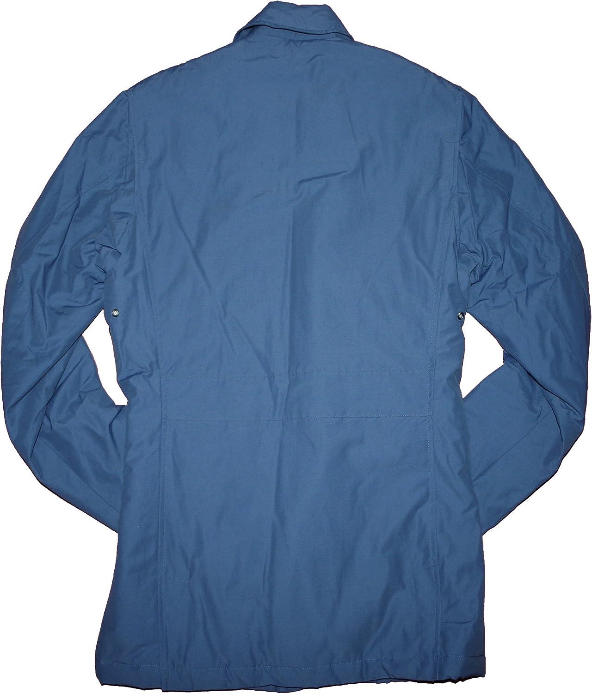 Brooks Brothers Padded Cargo Pocket Full Zip Button Field Coat Jacket Slate Blue, Large