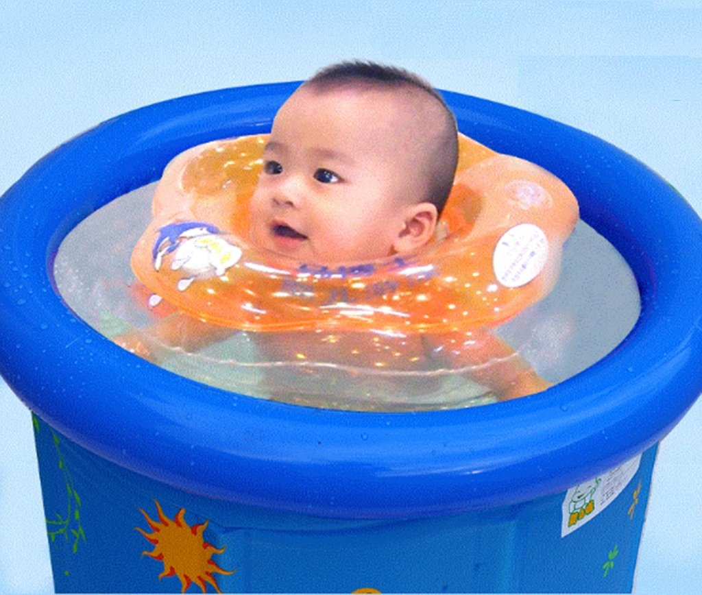 JPYG Inflatable Bathtub,Child Collapsible Bathbarrel Household Keepwarm Plastic Bathtub Portable (Color : #2) by JP bathtub (Image #6)