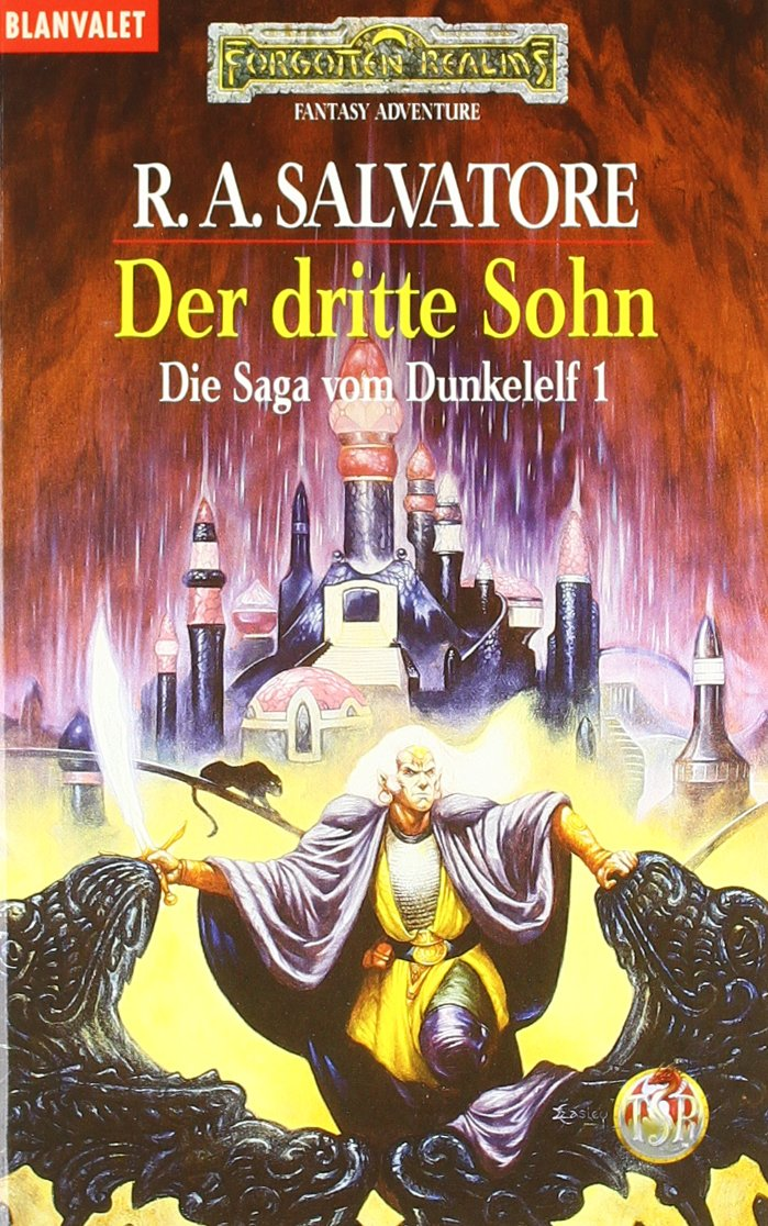 Die Saga vom Dunkelelf 1. Der dritte Sohn., Salvatore, R. A.