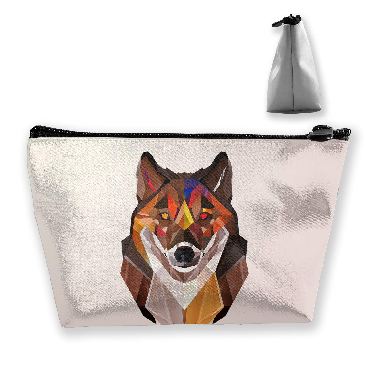 7aa88ad95f25 Amazon.com: customgogo Women's Insanity Wolf Travel Makeup Bags ...