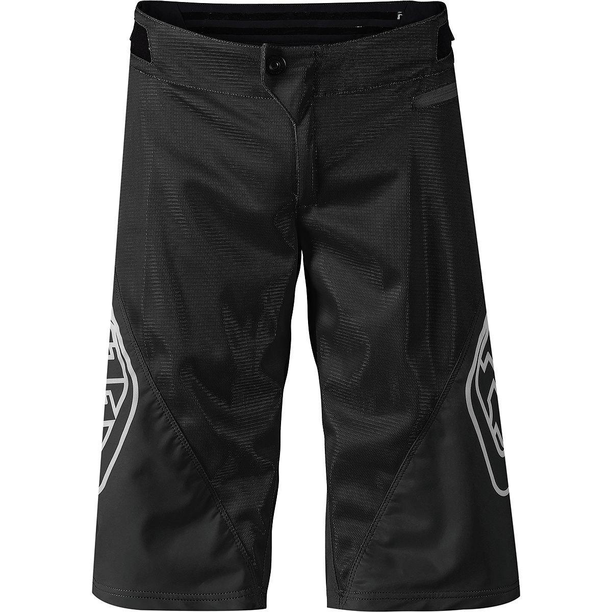 Troy Lee Designs Sprint Shorts - Boys' Solid Black, 18