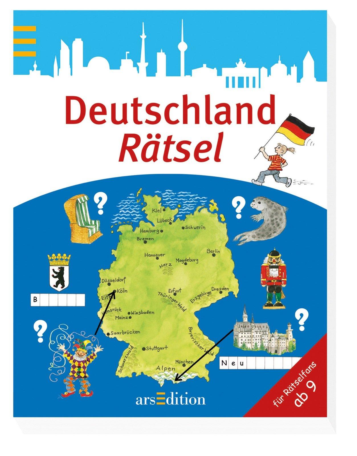 Deutschland-Rätsel (Rätsel ab 8 Jahren)