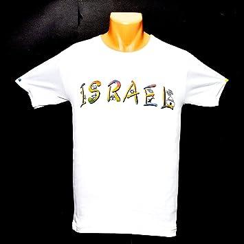Camisetas Israel de alta calidad 100% algodón (S)(M)(L)(XL)(XXL): Amazon.es: Deportes y aire libre