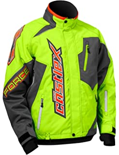 6f38d50a912 Amazon.com  Castle X Tempest Back Country Womens Snowmobile Jacket ...