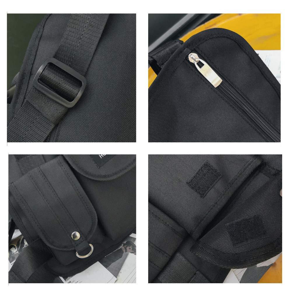 CGMZN Sac /à Dos /Chest rig Waist Bag Hip hop Streetwear Functional//Chest Bag Cross Shoulder Outdoor Bags