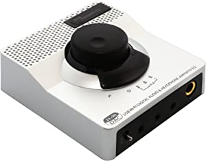 Syba Sonic USB 24 Bit 96 KHz DAC Digital to Analog Headphone Amplifier 2 Stage EQ Digital / Coaxial Output and RCA Output