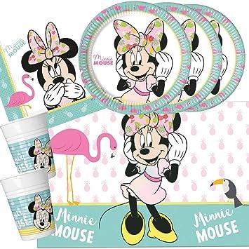 PROCOS Juego de Fiesta de 37 Piezas Minnie Mouse - Minnie ...