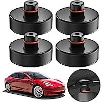 Tesla nakładka gumowa na lewarek samochodowy, model 3, 4 sztuki, do podnośników manewrowych i uniwersalna, gumowa…