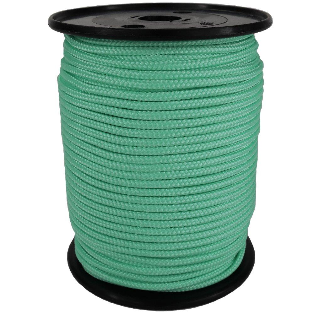 PP Seil Polypropylenseil SH 10mm 100m Farbe Mint (2832) Geflochten
