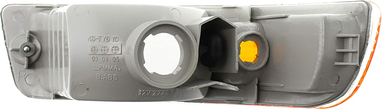 TO2532111 8152142040 TO2533111 Clear /& Amber Lens For Toyota RAV4 Corner Light 1998 1999 2000 Driver and Passenger Side Pair//Set 8151142040