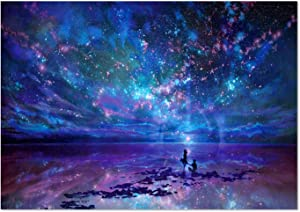 SuperDecor DIY 5D Diamond Painting Kits Full Drill Diamond Embroidery Painting Art Star Atlas Lover by Number Kits for Home Wall Decorations