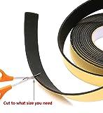 High Density Foam Tape, Foam Seal Strip Black