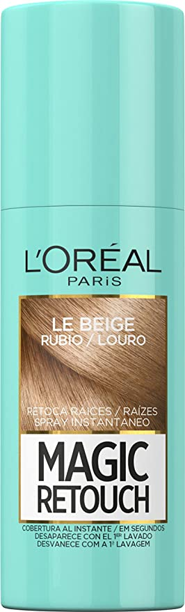 LOreal Paris Magic Retouch Spray Retoca Raíces, Tono: Rubio - 75 ml