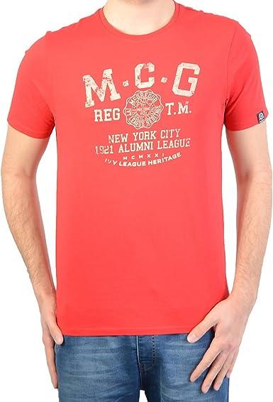 Camisa Mcgregor Básicos de ropa Deportiva Del.3 Rojo 20.3100.61.801: Amazon.es: Ropa y accesorios